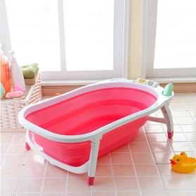 Baignoire pliable portable pour bébé - Rose