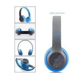 Casque P47 intelligent- WiFi/Bluetooth 4.2 - Bleu