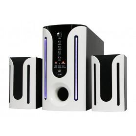 Woofer/Haut-Parleur Multimédia Bluetooth /Mp3 /Usb/Card - Noir