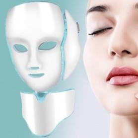 Masque Facial Led Anti-Rajeunissement, Acné, Ride - DermaLight ™