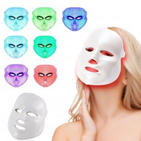 Masque Facial Led - rajeunissement - acné - ride