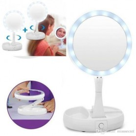 Miroir De Maquillage Avec Lampe LED