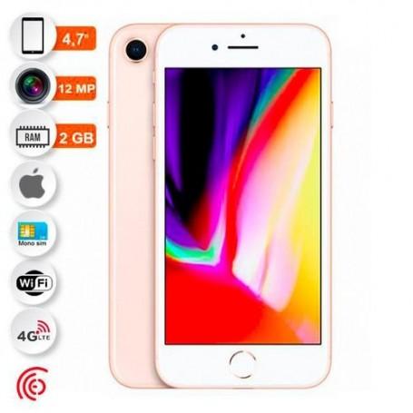 """Apple Iphone 8 - 4.7"""" - 12MP - 128Go - 2Go - Or - Garantie 12 Mois"""