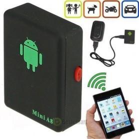 Géo-localisateur Mini A8 Temps Réel Voitures Enfants GSM / GPRS / GPS Tracker Dispositif De Suivi - Noir