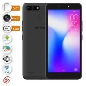 Tecno Pop 2 Power - 5,5 Pouces - 3G - 8 Mégapixels - Rom 16 Go - Ram 1 Go - 2400 Mah - Noir
