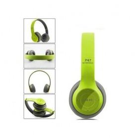 Casque P47 intelligent- WiFi/Bluetooth 4.2 - Vert
