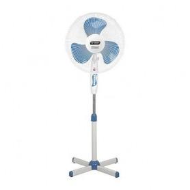 """SMART TECHNOLOGY 2 Ventilateurs 16"""" - STV-602 - Bleu-blanc - Garantie 1 Mois"""