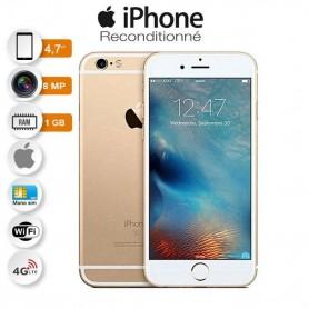 IPhone 6 - 4.7 Pouces - 1 Go Ram/16 Go - 8 MP - 4G - Gris - Reconditionné - Garantie 3 Mois
